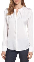 BOSS Women's Banyra Stretch Silk Blouse