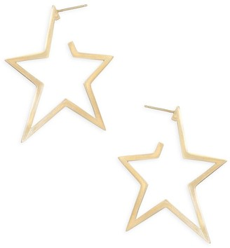 Jennifer Zeuner Jewelry Sade Large Star Earrings
