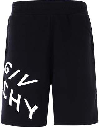 Givenchy Refracted Embroidered Shorts