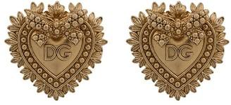 Dolce & Gabbana heart motif cufflinks