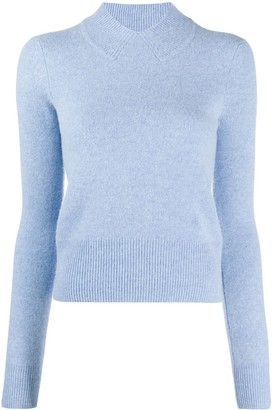 Victoria Beckham Slim Fit Knitted Top