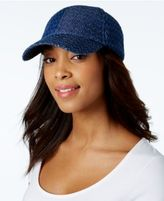 INC International Concepts Perforated Baseball Cap, Created for Macy's