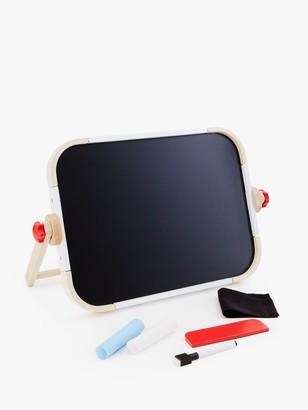 John Lewis & Partners Wooden Chalk & Magnetic Board