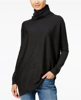 Eileen Fisher Wool Asymmetrical Turtleneck Sweater