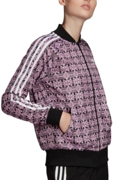 adidas Women's Printed Bomber Jacket