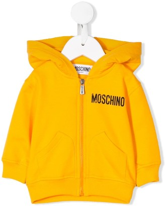 MOSCHINO BAMBINO Logo Print Hoodie