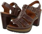 Dr. Martens Vanessa 3-Strap Sandal (Dark Brown) - Footwear