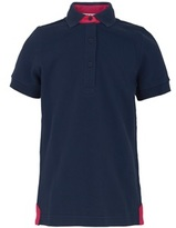 Harry Hall Pink Trim Navy Polo