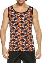 Coofandy Men's All-Over Print Tank Top Slim Fit Sleeveless T-Shirt