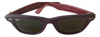 Ray-Ban Original Wayfarer Pink Plastic Sunglasses