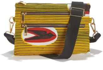 La Redoute Maison Chateau Rouge X Tribal Print Bum Bag