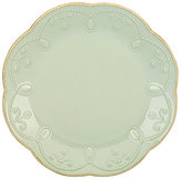 Lenox French Perle Scalloped Stoneware Accent Salad Plate