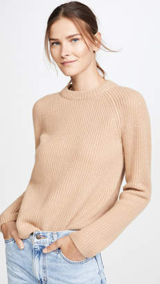 Vince Cashmere Shaker Rib Pullover