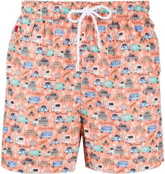 Kiton Go By Bike swim shorts