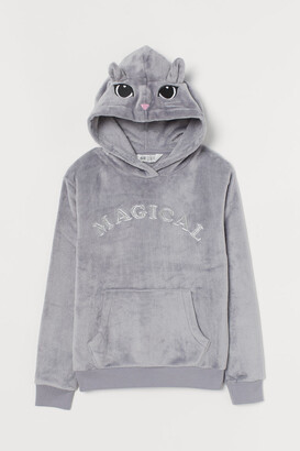 H&M Appliqued hoodie