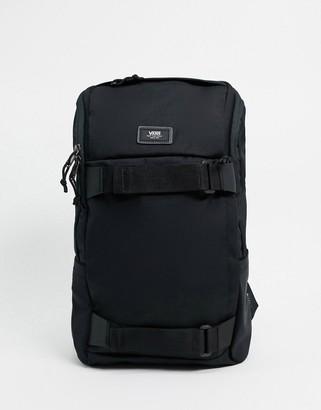 Vans Obstacle skate backpack in black ripstop