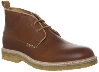 Poste For Offspring Desert Boots Cognac Leather