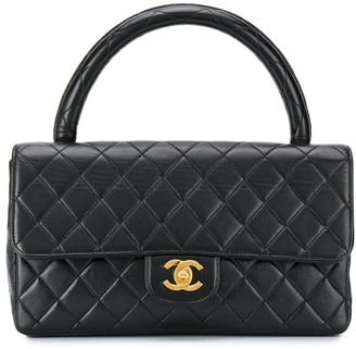 Chanel Pre Owned 1990s quilted CC box bag