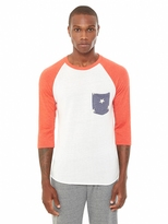 Alternative Baseball Eco-Jersey Pocket T-Shirt
