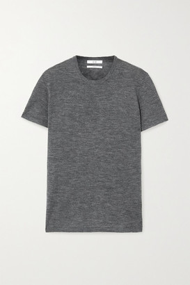 Co Melange Cashmere T-shirt - Gray