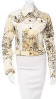 Roberto Cavalli Printed Lightweight Jacket