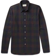 Oliver Spencer - New York Special Checked Cotton-flannel Shirt