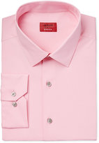 Alfani Slim Fit + Stretch Men's Prism Pink Dress Shirt, Only at Macy's