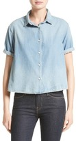 The Great Women's The Bais Chambray Top