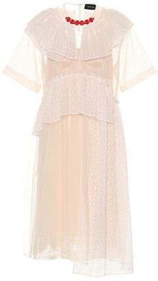 Simone Rocha Lace, tulle and satin dress