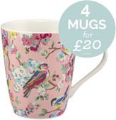 Cath Kidston Blossom Birds Stanley Mug