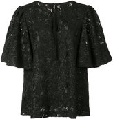 Co keyhole floral blouse - women - Polyester - L