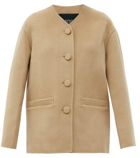 MARC JACOBS, RUNWAY Marc Jacobs Runway - Single-breasted Wool-blend Felt Jacket - Camel