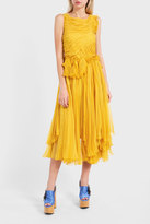 Rochas Ruched Dress