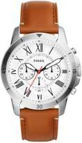 Fossil Grant Sport Chronograph Watch Braun
