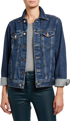 AG Jeans Mya Denim Trucker Jacket