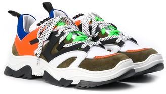 DSQUARED2 TEEN low-top sneakers