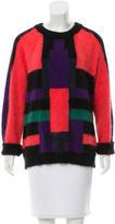 Balmain Scoop Neck Wool Sweater