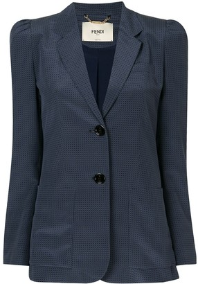 Fendi Single-Breasted Blazer