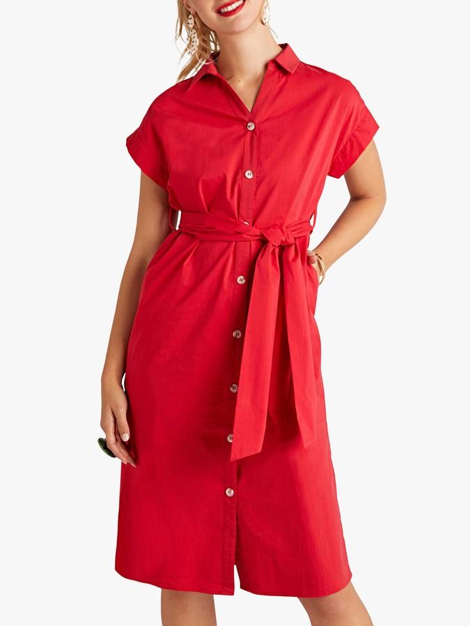 Yumi Utility Shirt Dress