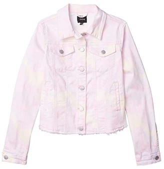 Joe's Jeans Watercolor Twill Jacket (Big Kids) (Lemon Drop) Girl's Coat
