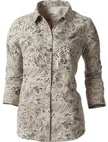 Royal Robbins Women's Expedition Stretch 3/4 Sleeve Print