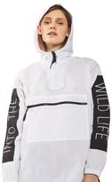 Topshop Women's Wild Windbreaker Jacket