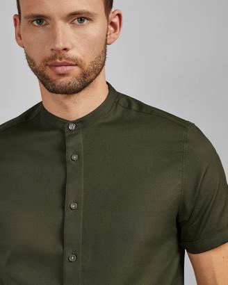 Ted Baker GRANCOL Grandad collar shirt
