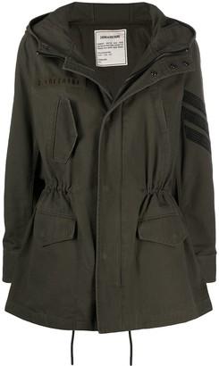 Zadig & Voltaire Kinian parka coat