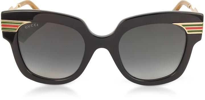 9b5c6b7822 Gucci Square-frame Acetate Sunglasses - ShopStyle