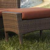 Panama Jack Key Biscayne Ottoman with Cushion