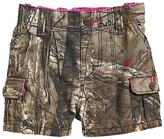 Carhartt Green Realtree XtraTM Camo Shorts - Girls