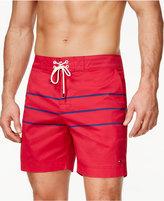 Tommy Hilfiger Men's Brent Tri-Stripe Board Shorts
