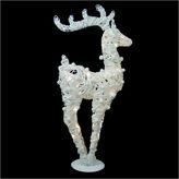 Asstd National Brand 36 Glittered LED Lighted Reindeer