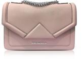 Karl Lagerfeld K/Klassik Pink Ballet Leather Shoulder Bag